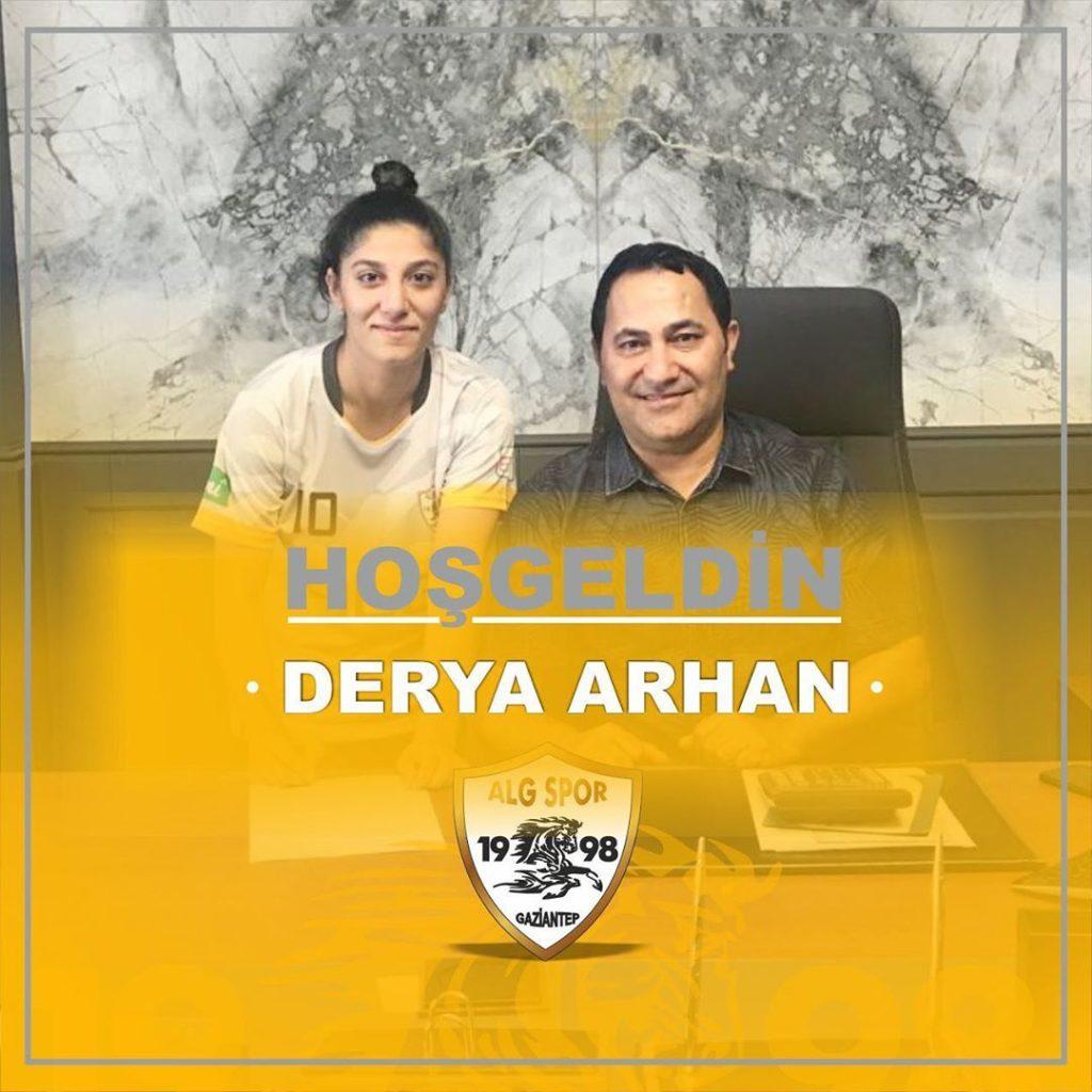Alg Spor Kulübü | Derya Arhan