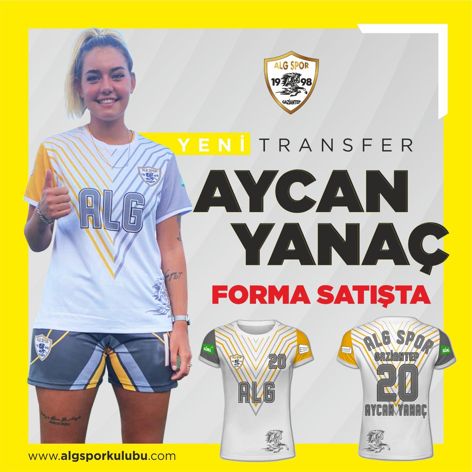 Aycan Yanaç Forma Satın Al | Alg Spor Kulubu
